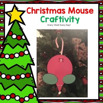 Christmas Mouse Ornament Craft