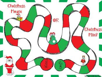 Christmas Mouse or Christmas Mice? An Irregular Plurals Game