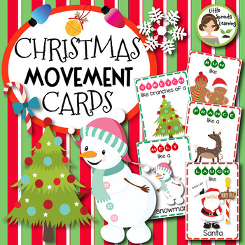Christmas Movement Cards (20 different cards)