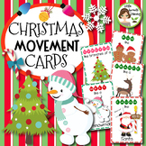 Christmas Movement Cards - Brain Breaks (Transition activity)
