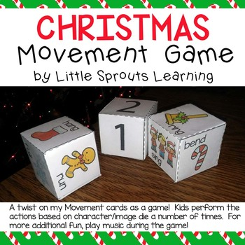 Christmas FREE Movement Game
