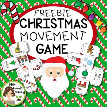 Christmas FREE Movement Game