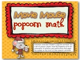 Christmas Movie Mouse Popcorn Math