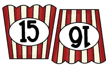 Christmas Movie Mouse Popcorn Math