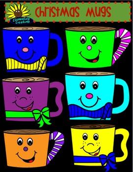 Winter Mugs Clipart