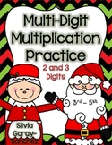 Christmas Multi-Digit Multiplication Practice