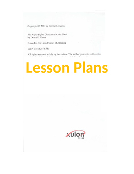 African American Multicultural Vocabulary Lesson Plan
