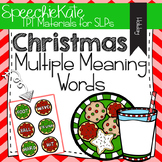 Christmas Multiple Meaning Words