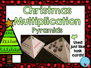 Christmas Multiplication Task Cards