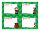 4 Digit by 1 Digit Multiplication Christmas Task Cards