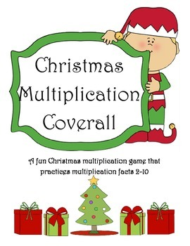 Christmas Multiplication Coverall Game