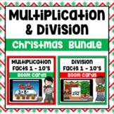 Christmas Multiplication & Division Facts Boom Cards Bundle