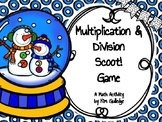 Christmas Multiplication & Division Scoot! Task Cards & Game