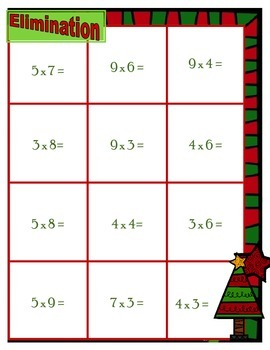 Christmas Multiplication Elimination