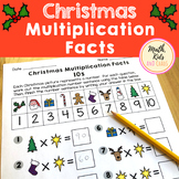 Christmas Multiplication Facts