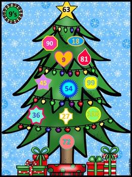 Christmas Multiplication Practice For Multiplication Fact Fluency