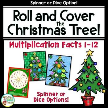 Christmas Multiplication Game For Multiplication Fact Fluency
