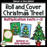 Christmas Multiplication Game For Multiplication Fact Fluency