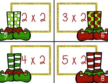Christmas Multiplication Fast Facts