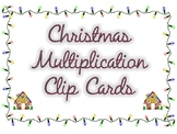 Christmas Multiplication Game!  ALL FACTS 1-12