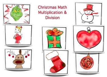 Christmas Multiplication - Grade 3