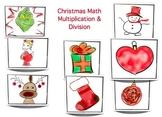 Christmas Multiplication - Grade 3