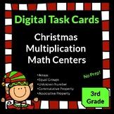 Christmas Activities Multiplication Third Grade Math Centers Digital Task Cards