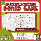 Christmas Multiplication Math Game - 2 Paper Versions + Go