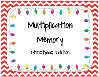 Christmas Multiplication Memory