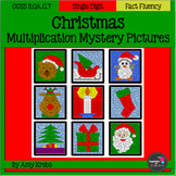 Christmas Multiplication Mystery Pictures