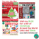 Christmas Multiplication Posters and Coloring Pages