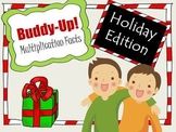 Christmas Multiplication Practice Game - BUDDY-UP!