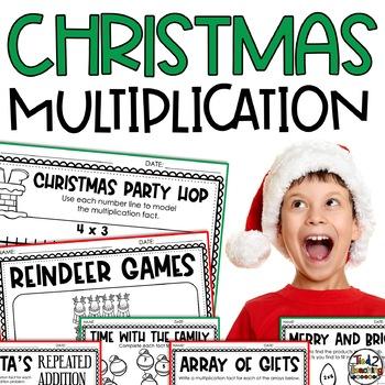 Christmas Multiplication Printables