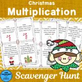 Christmas Multiplication Scavenger Hunt