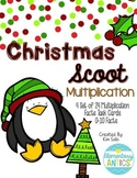 Christmas Multiplication Scoot Task Cards