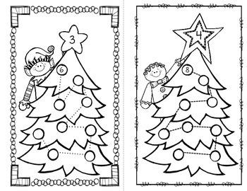 Christmas Multiplication Skip Counting Book