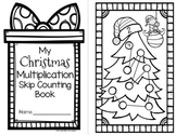 Christmas Multiplication Skip Counting Book