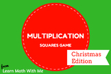 Christmas Multiplication Squares Activity - FREE