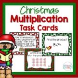 Christmas Multiplication Task Cards - 3rd Grade