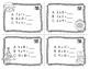 Christmas Multiplication Task Cards