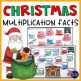 Christmas Multiplication Worksheets | Christmas Math Activities 4th Grade