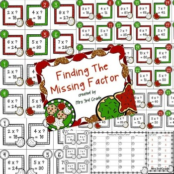 Christmas Multiplication and Division Growing Bundle