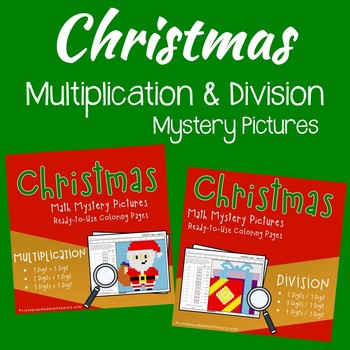 Math Color By Number Christmas, Multiplying And Dividing Multi Digit Numbers