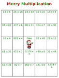 Christmas Multiplication and Long Division Games