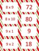 Christmas Multiplication facts (8-12)  Concentration & War Card Games