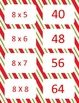 Christmas Multiplication facts (8-12)  Concentration & War