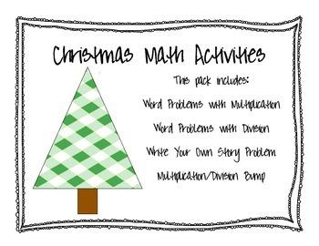 Christmas Multiplication/Division Bundle