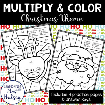 Christmas Multiply and Color