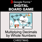 Christmas: Multiplying Decimals by Whole Numbers - Digital