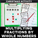 Christmas Multiplying Fractions Activity